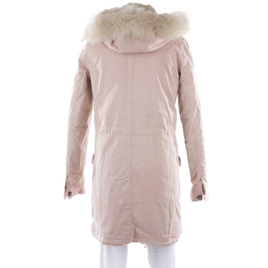Winterjacke von Blonde No. 8 in Rosa und Beige Gr. S - Aspen