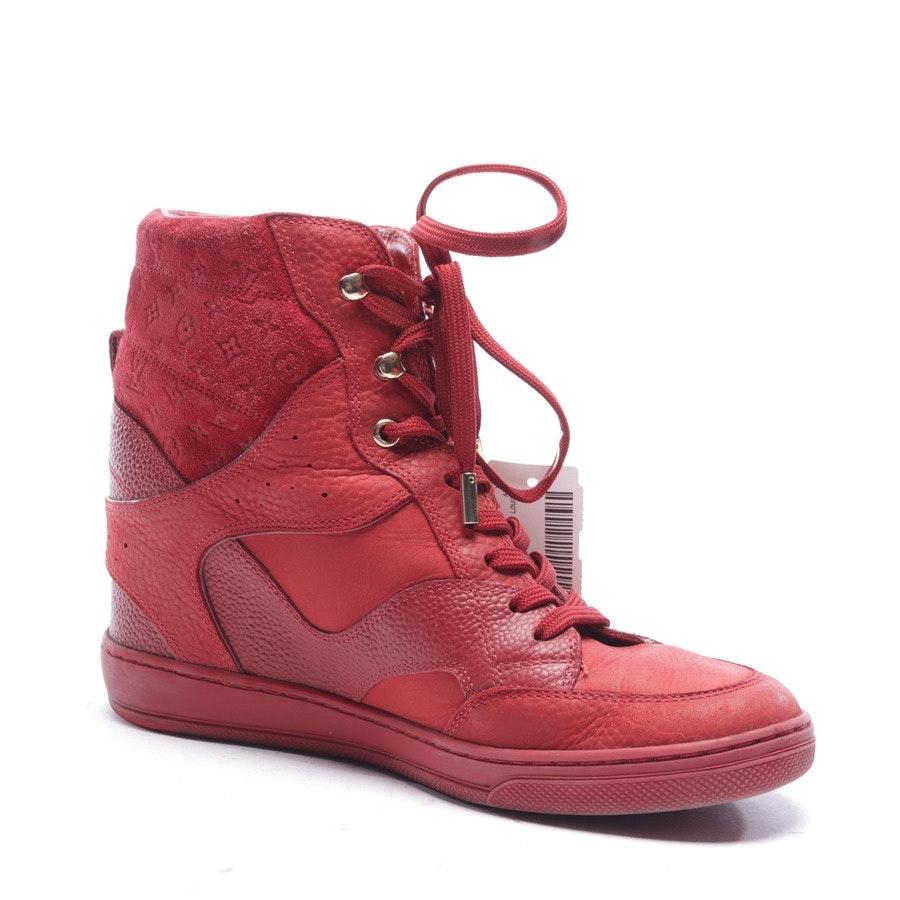 High-Top Sneaker von Louis Vuitton in Rot Gr. EUR 38 - Cliff High Top Wedge
