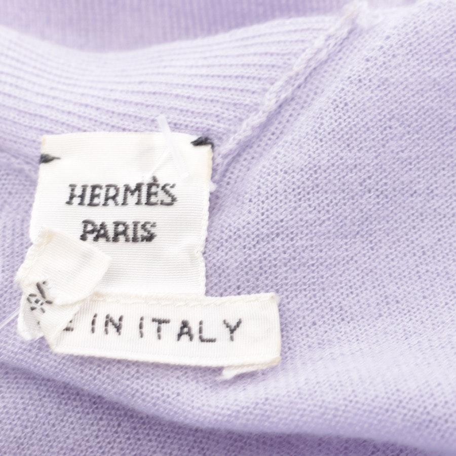 Kaschmirpullover von Hermès in Flieder Gr. S