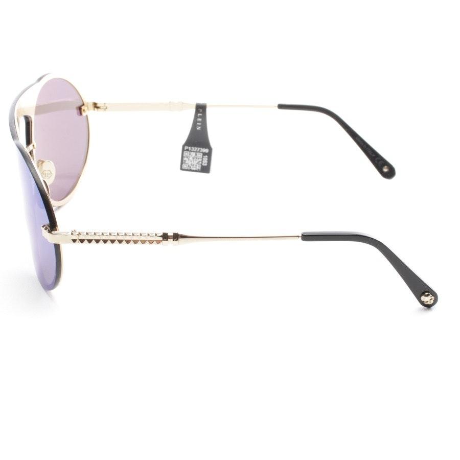 Sonnenbrille von Philipp Plein in Gold - Bubble - Neu