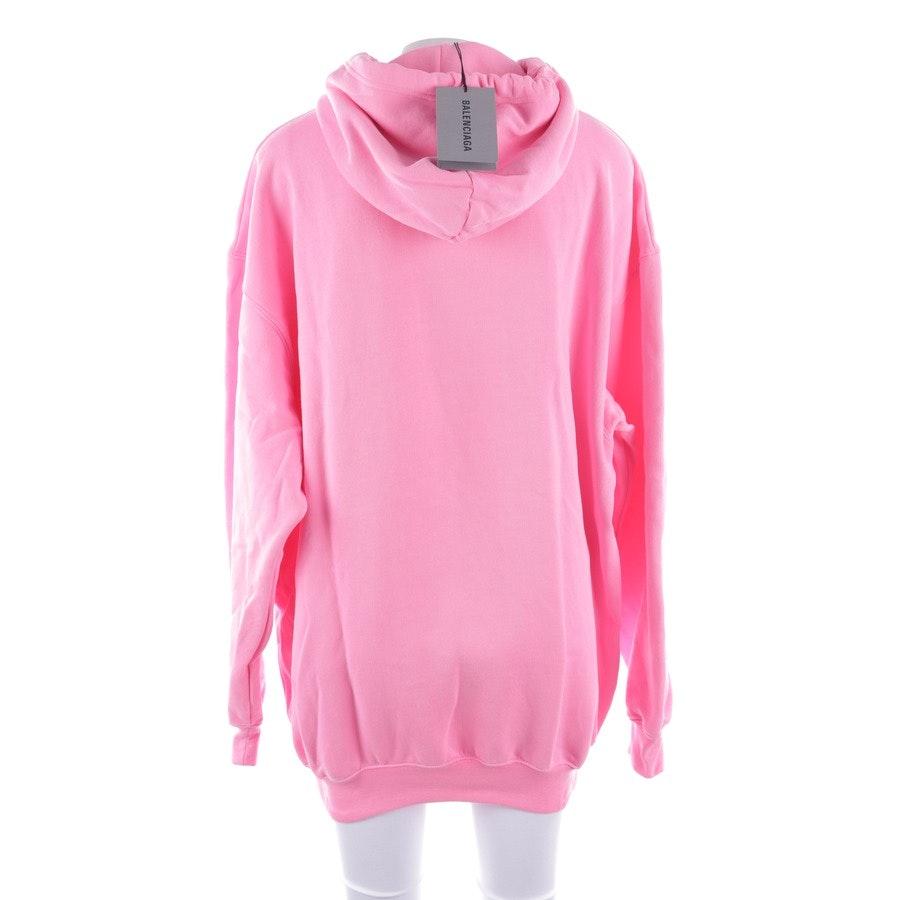 Sweatshirt von Balenciaga in Neon Pink Gr. S - Neu