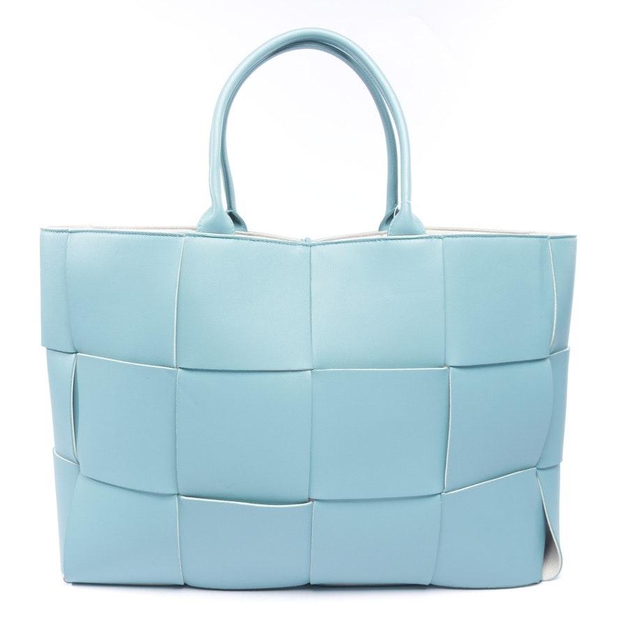 Shopper von Bottega Veneta in Türkis - Arco Tote Bag