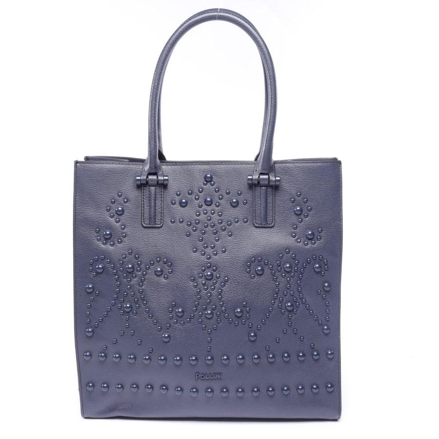 Handtasche von Pollini in Dunkelblau