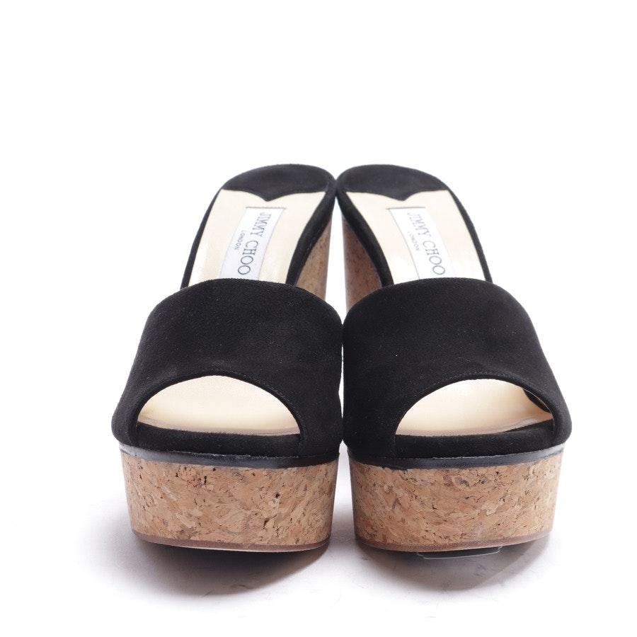 Sandaletten von Jimmy Choo in Schwarz Gr. EUR 41 - Neu