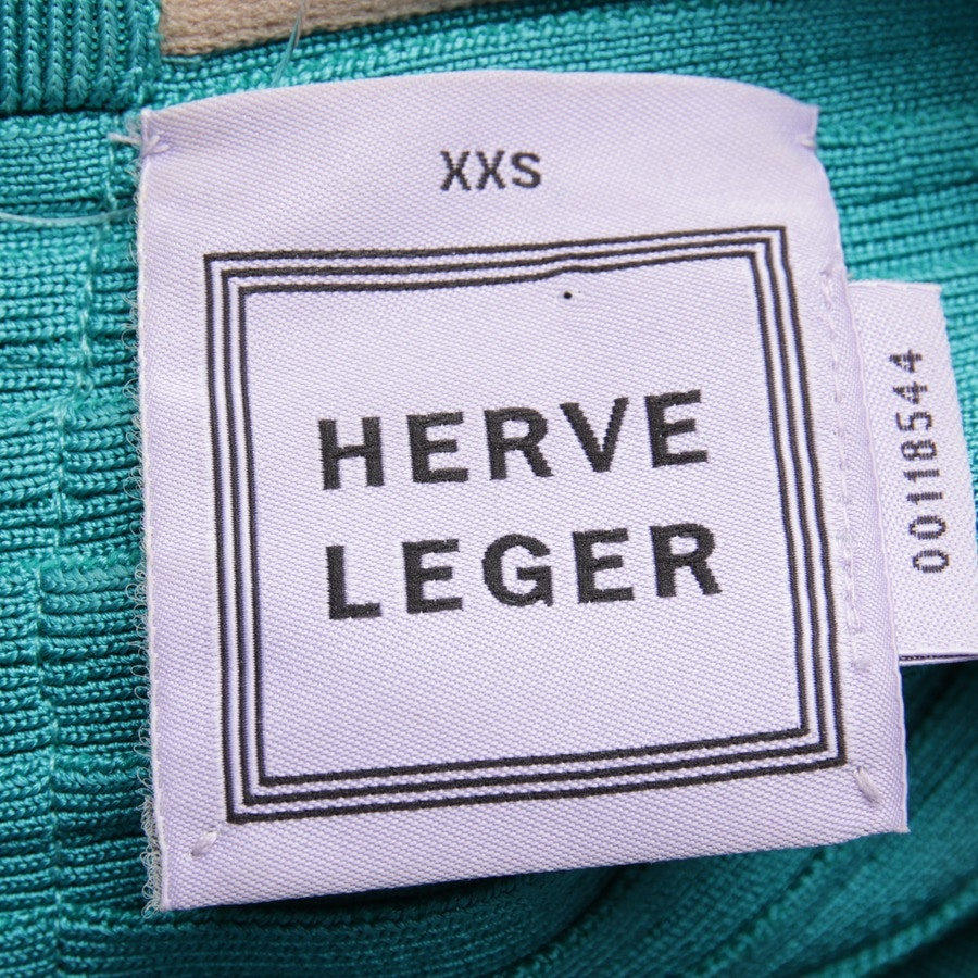 dress from Hervé Léger in turquoise size XXS