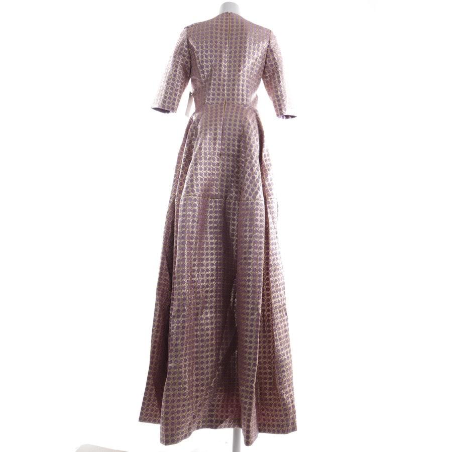 Kleid von Reem Acra in Gold und Lila Gr. 36 US 6 - Neu