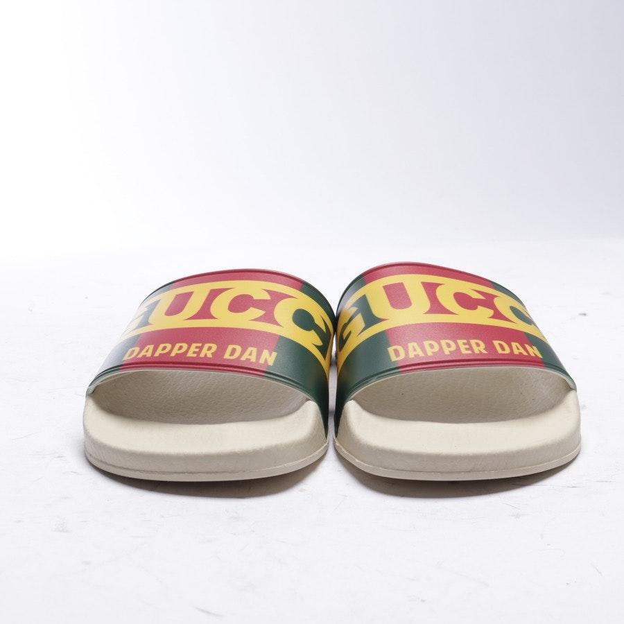 Sandalen von Gucci in Rot und Grün Gr. EUR 38