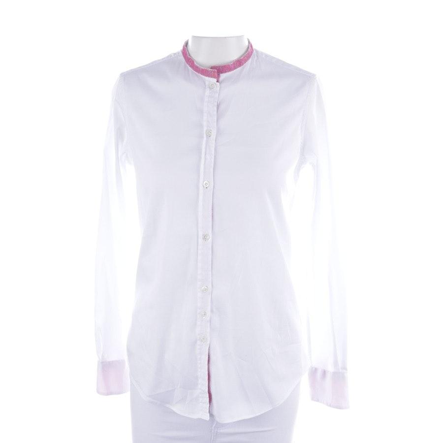Bluse von Aglini in Weiß Gr. 34 IT 40