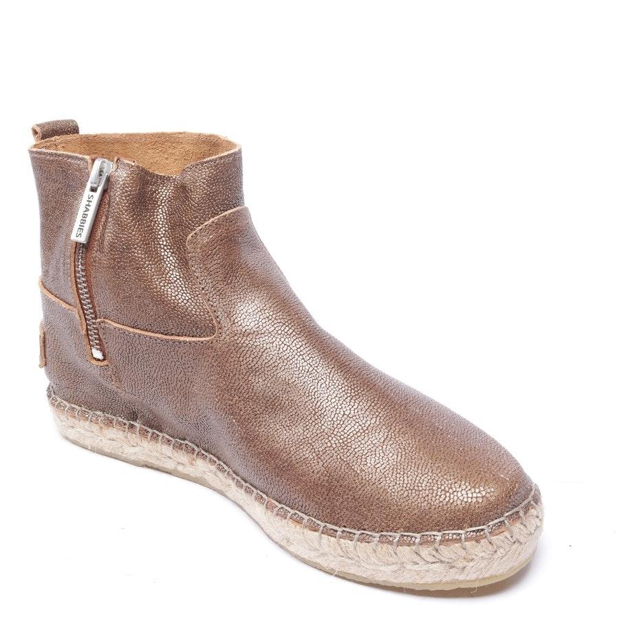 Ankle Boots von Shabbies Amsterdam in Bronze Gr. EUR 38 - Neu