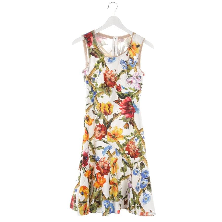 Kleid von Dolce & Gabbana in Weiß und Multicolor Gr. 30 IT 36