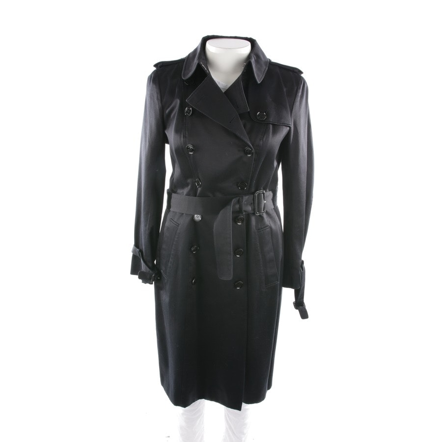 Trenchcoat von Burberry Prorsum in Schwarz Gr. 42 IT 48