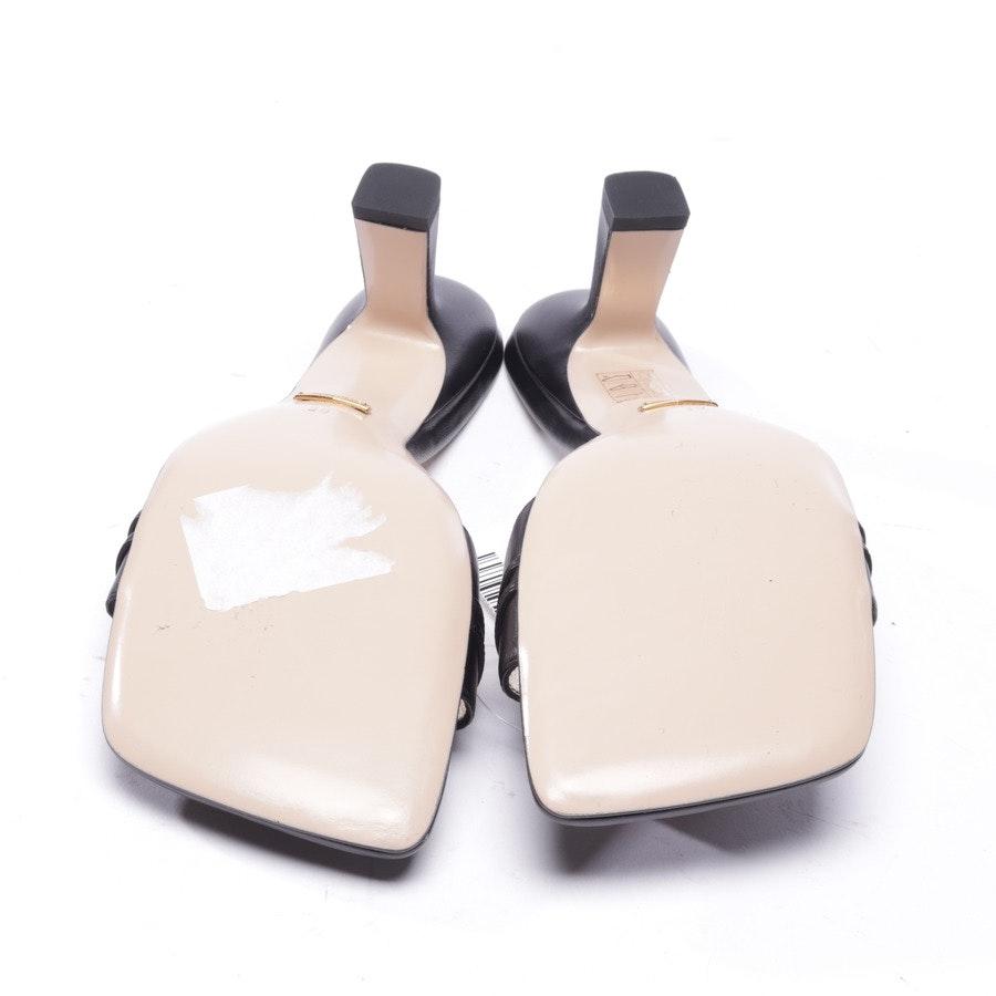 Sandaletten von Gucci in Schwarz und Gold Gr. EUR 39 - Neu