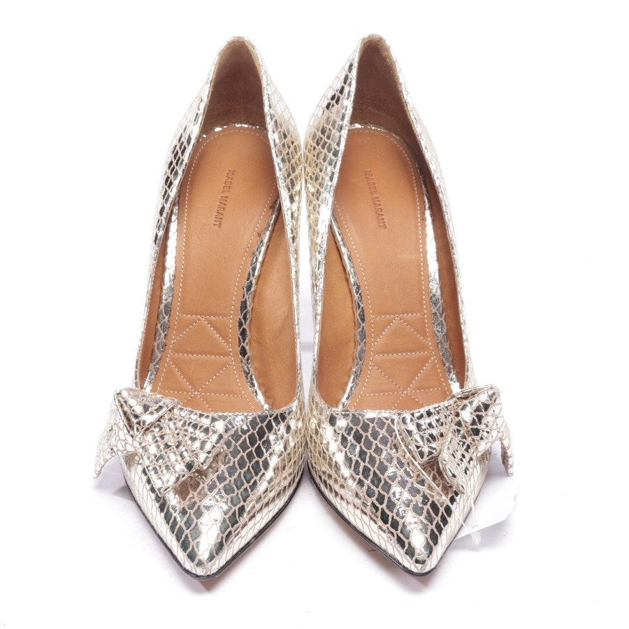 Pumps von Isabel Marant in Gold Gr. EUR 40
