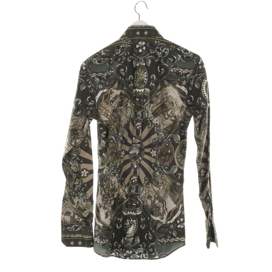 Freizeithemd von Dolce & Gabbana in Khaki Gr. 37-38 - Neu