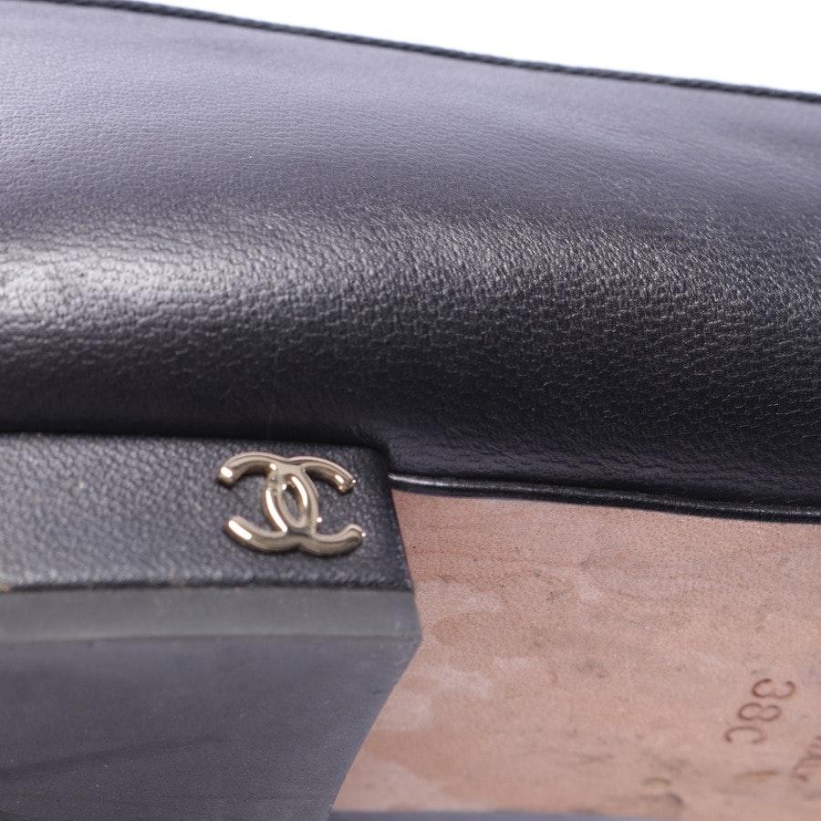 Halbschuhe von Chanel in Schwarz Gr. EUR 38