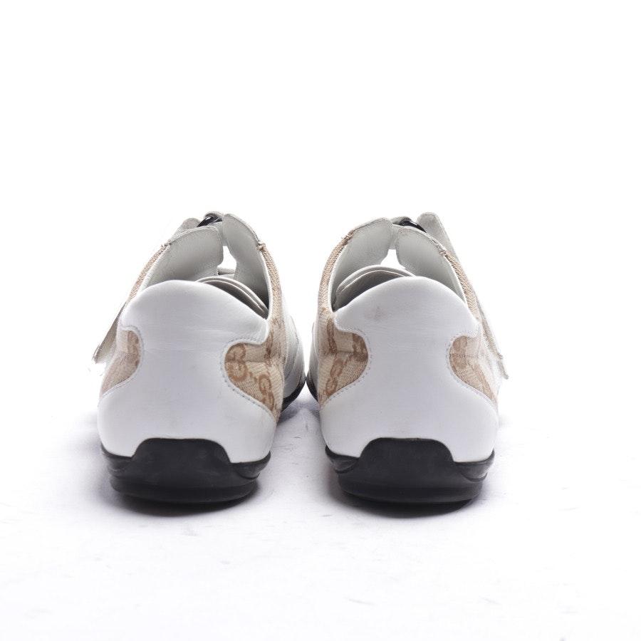 Sneaker von Gucci in Weiß und Braun Gr. EUR 37,5