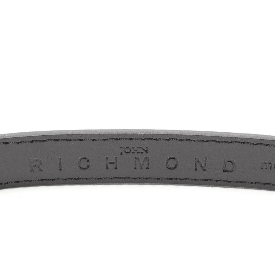 Gürtel von John Richmond in Schwarz Gr. 100 cm
