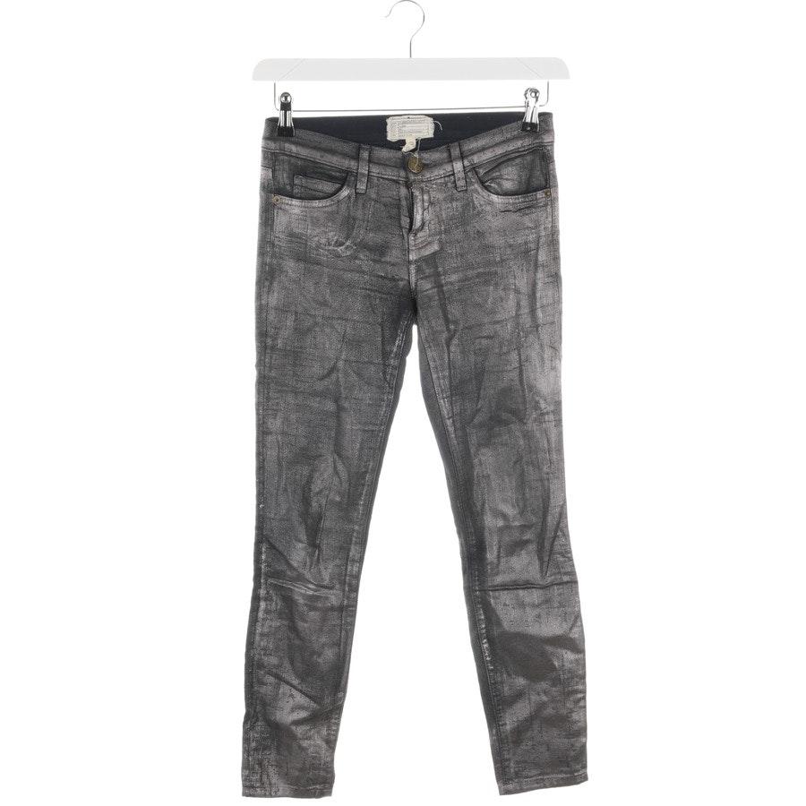 Jeans von Current/Elliott in Silber Gr. W25