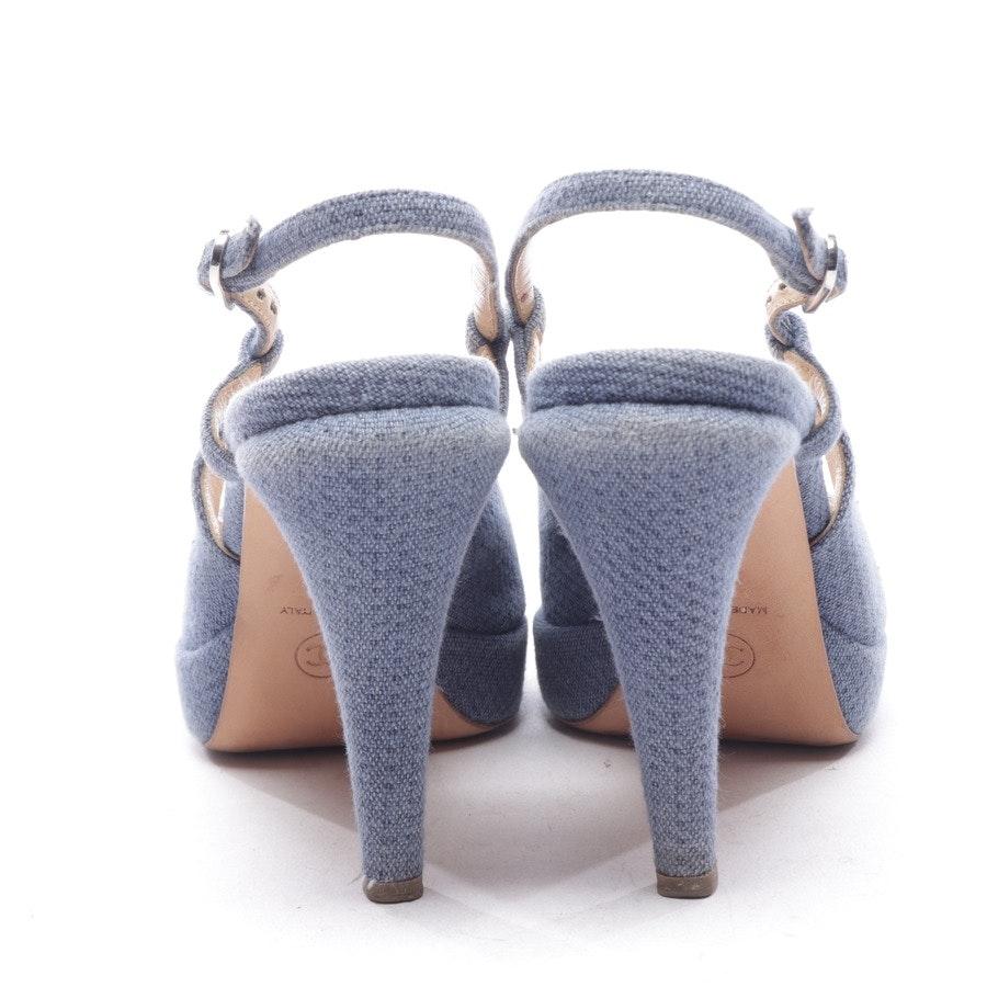 Slingbacks von Chanel in Blau Gr. EUR 38