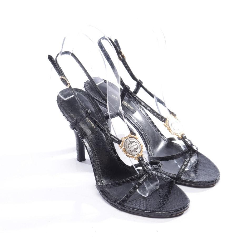Sandaletten von Dolce & Gabbana in Schwarz Gr. EUR 36