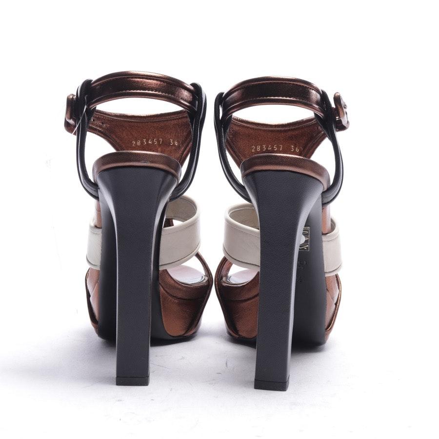 Sandaletten von Gucci in Bronze Gr. EUR 36,5 - Neu