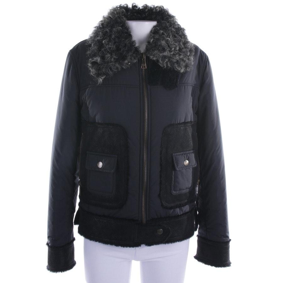 Winterjacke von Dolce & Gabbana in Nachtblau und Schwarz Gr. 34 IT 40