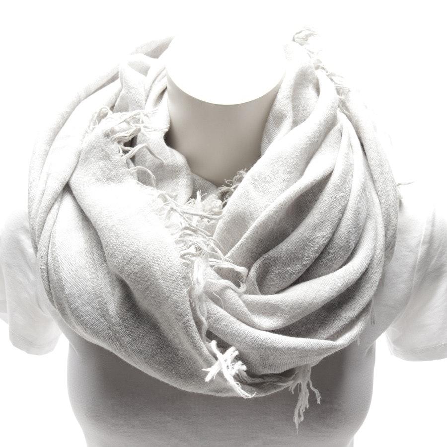 Schal von Gucci in Grau und Weiß