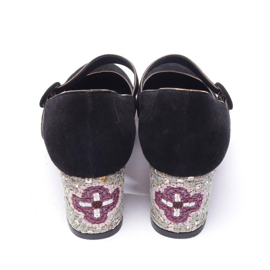 Pumps von Dolce & Gabbana in Schwarz und Multicolor Gr. EUR 38