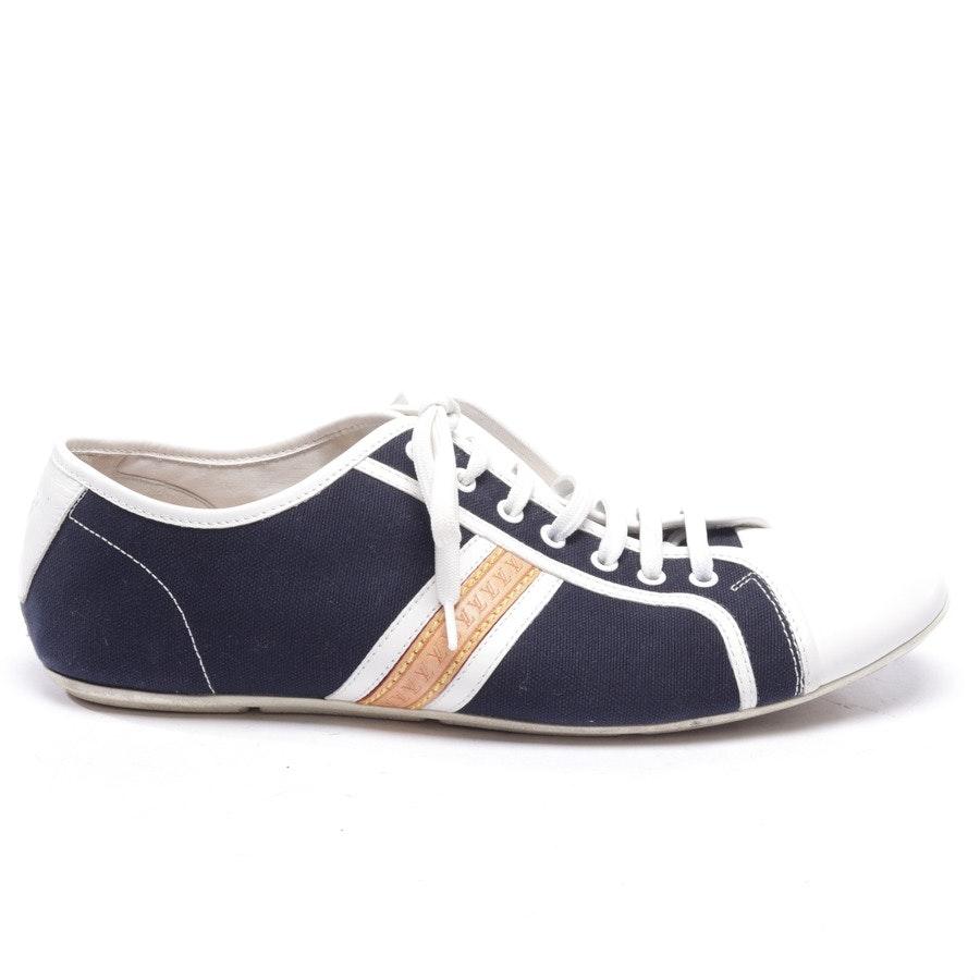 Sneaker von Louis Vuitton in Dunkelblau und Weiß Gr. EUR 42,5 UK 8,5
