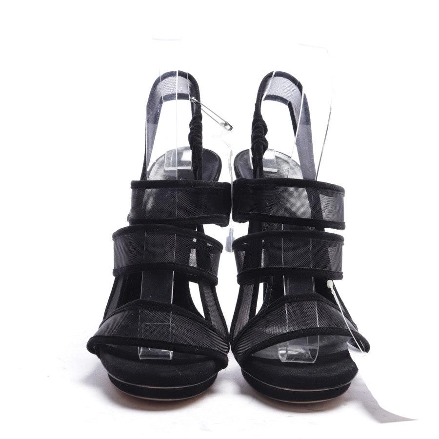 Sandaletten von Gucci in Schwarz Gr. EUR 38