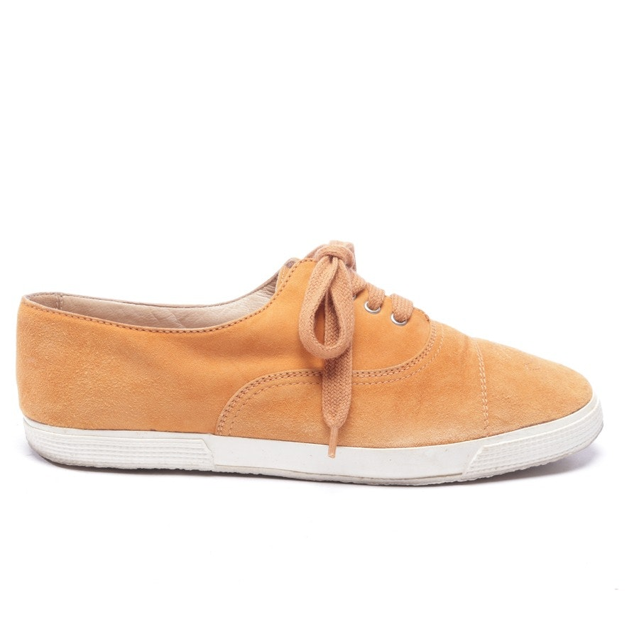 Sneaker von Chanel in Orange Gr. EUR 36