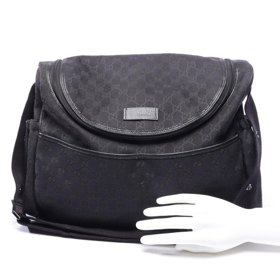 Wickeltasche von Gucci in Schwarz