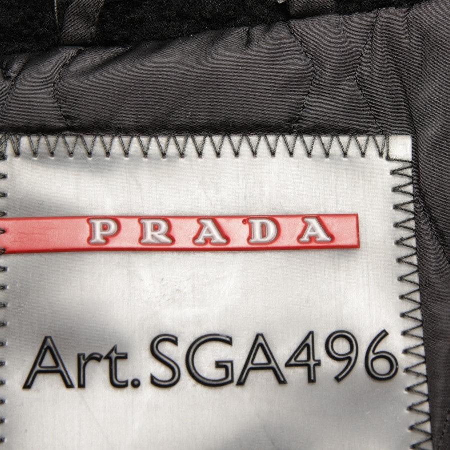 winter coat from Prada Linea Rossa in black size DE 44 IT 50