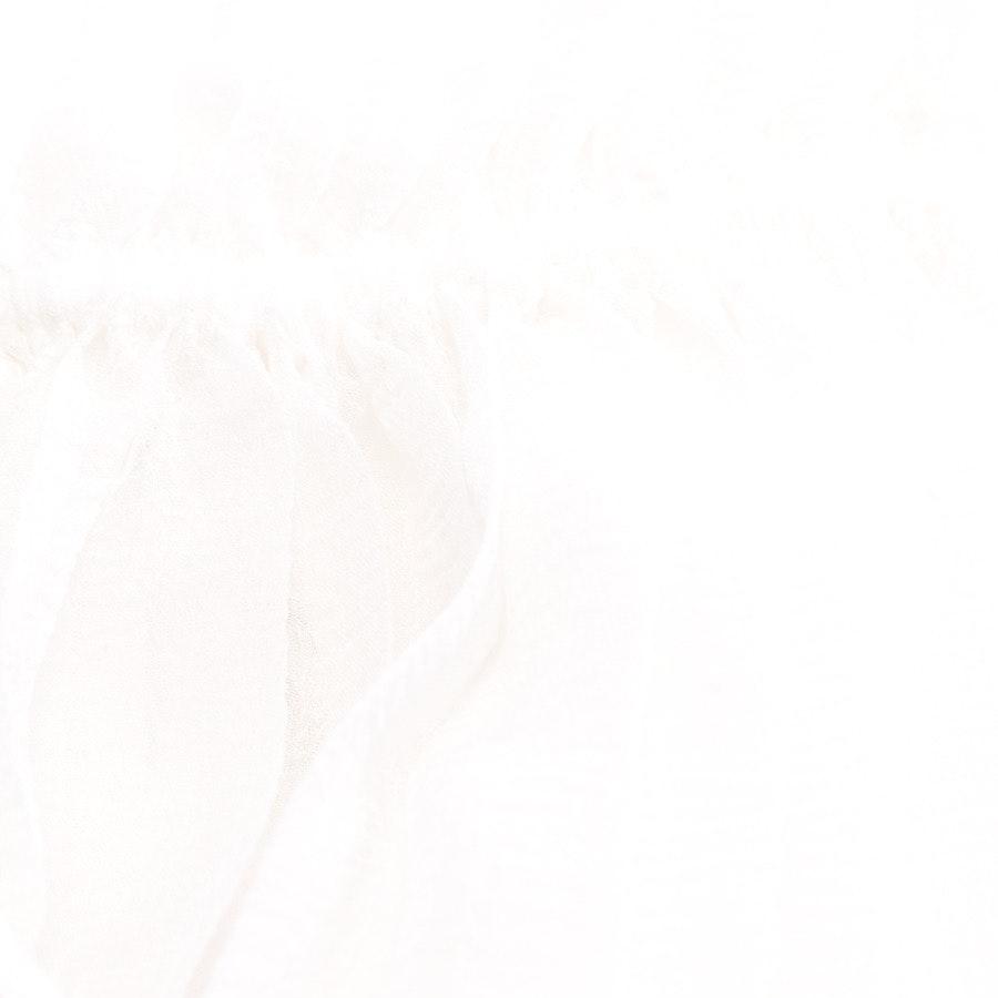 Faltenrock von Chloé in Cremeweiß Gr. 34 FR 36