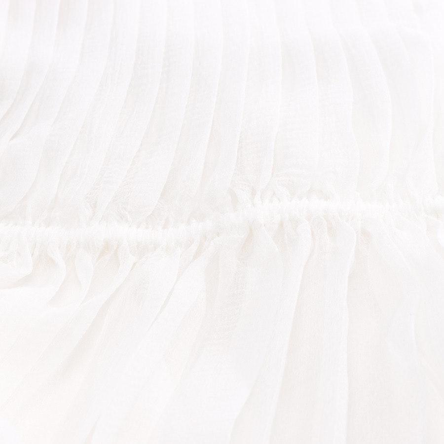 Seidenrock von Chloé in Weiß Gr. 32 FR 34