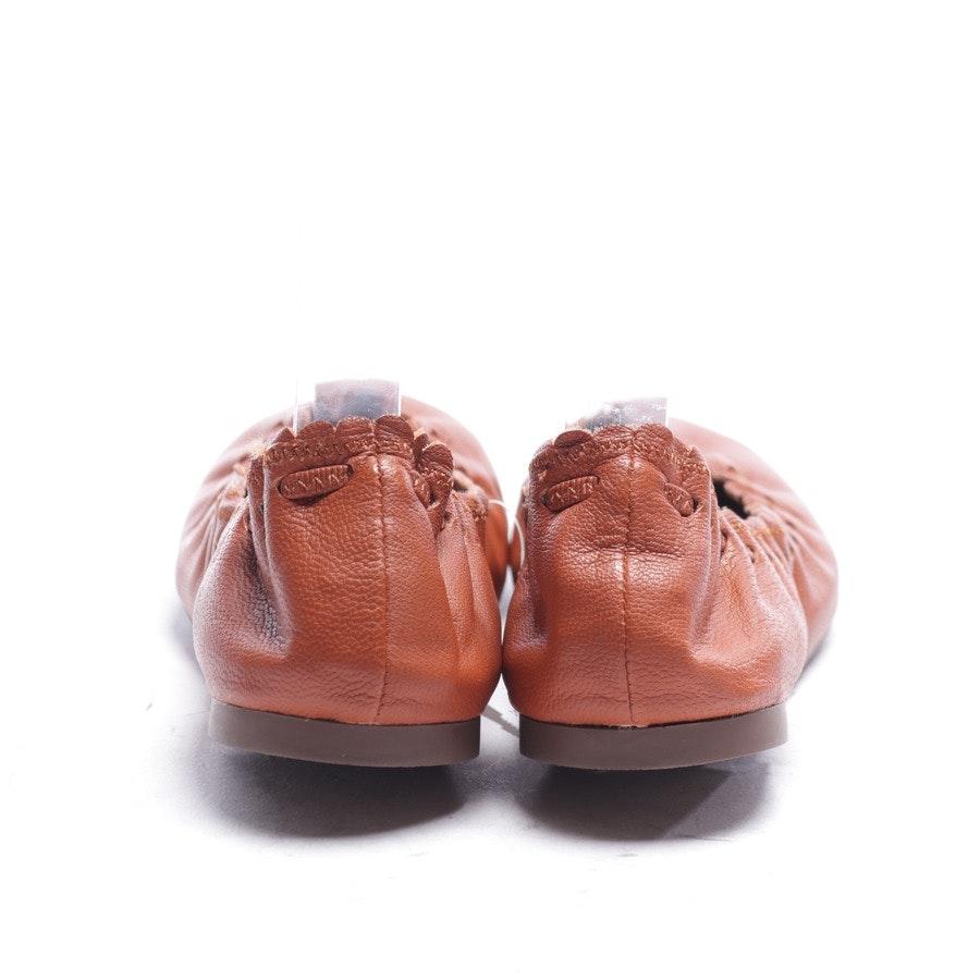 Ballerinas von See by Chloé in Rotbraun Gr. EUR 38 - Neu