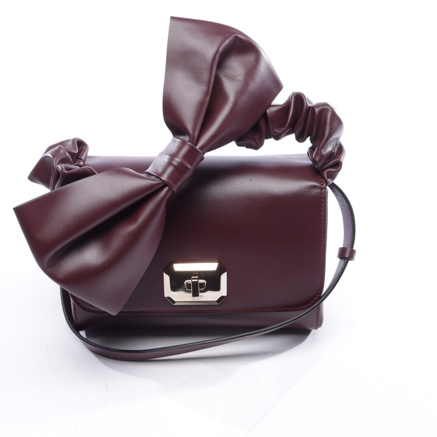 Schultertasche von Red Valentino in Aubergine - Top Handle - Neu