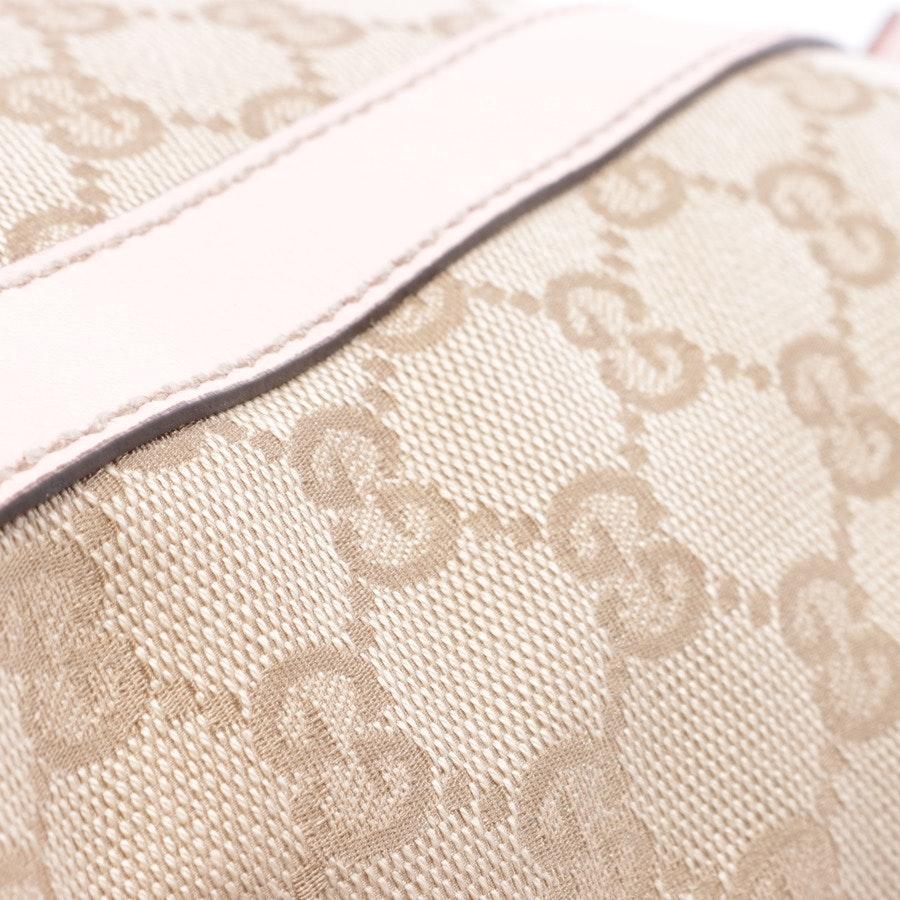 Handtasche von Gucci in Lachsrosa und Beige