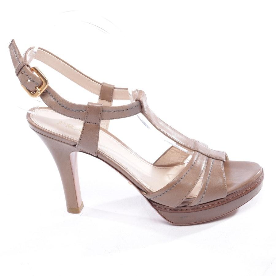 Sandaletten von Prada in Beigebraun Gr. EUR 38