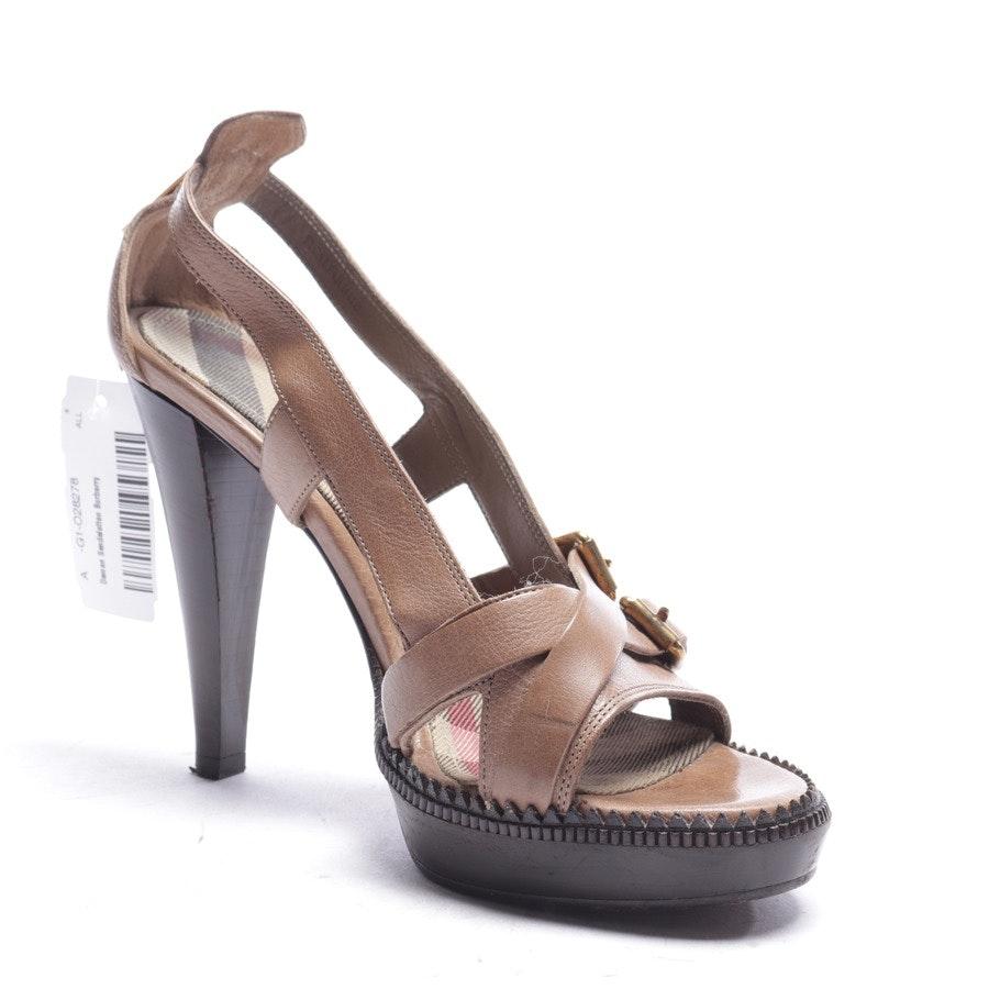 Sandaletten von Burberry in Braun Gr. EUR 39