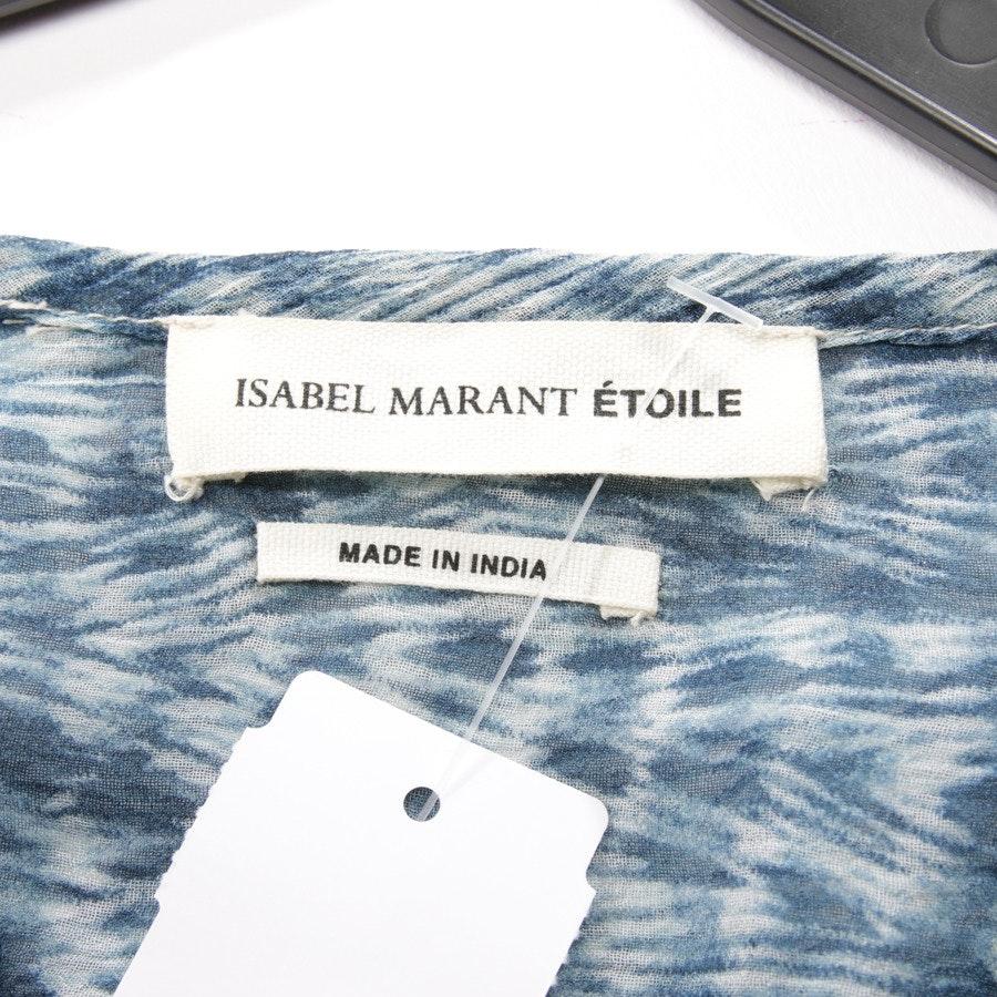 Seidenbluse von Isabel Marant Étoile in Blau Gr. DE 38 FR 40