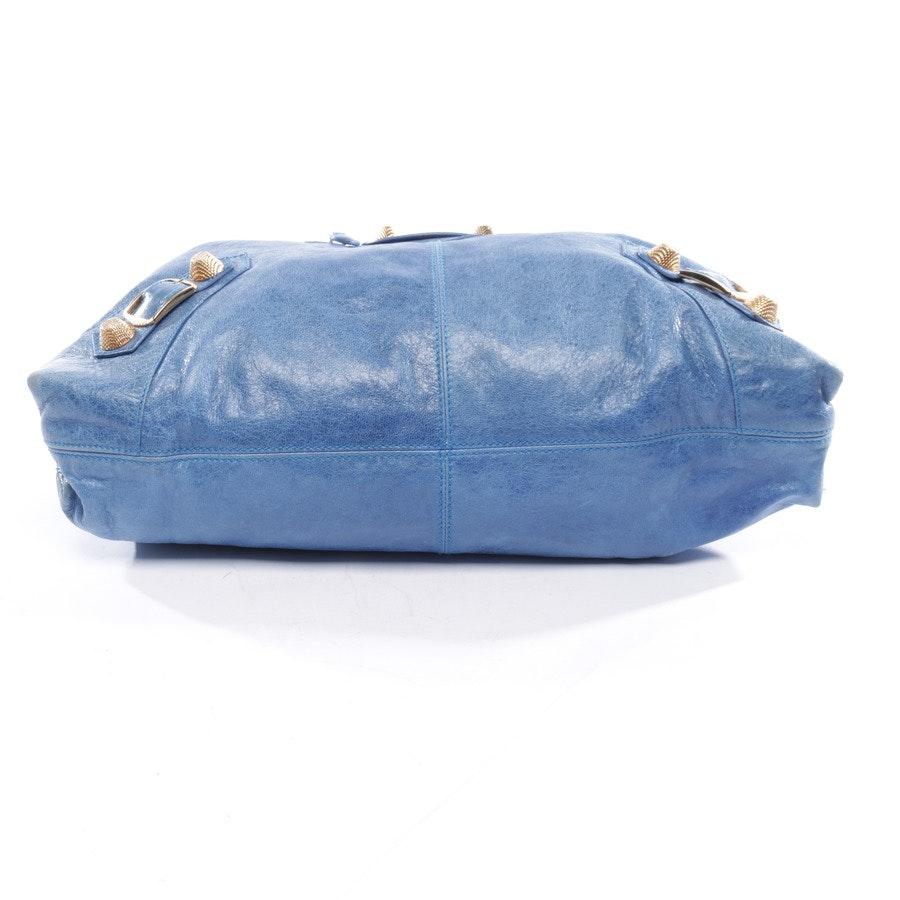 Schultertasche von Balenciaga in Blau - Giant 12 Pompon Brogues