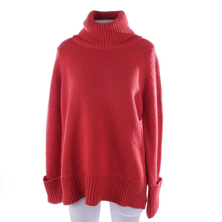 Wollpullover von Herzensangelegenheit in Rot Gr. 40