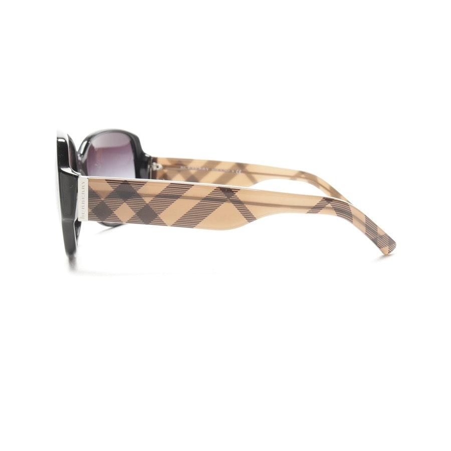 Sonnenbrille von Burberry in Schwarz und Braun