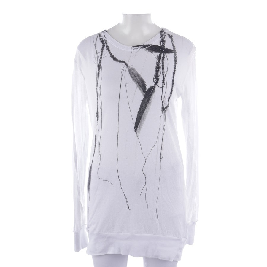 Shirt von Ann Demeulemeester in Weiß Gr. 34 / 36