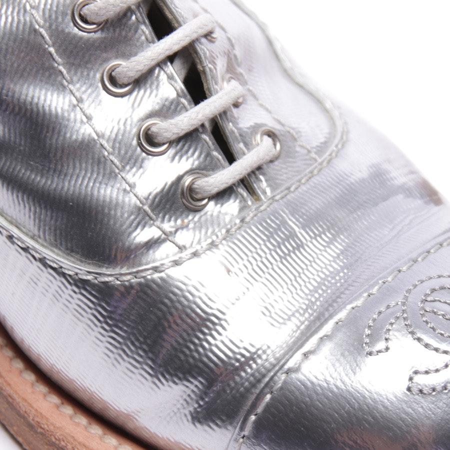 Stiefeletten von Chanel in Silber Gr. EUR 37