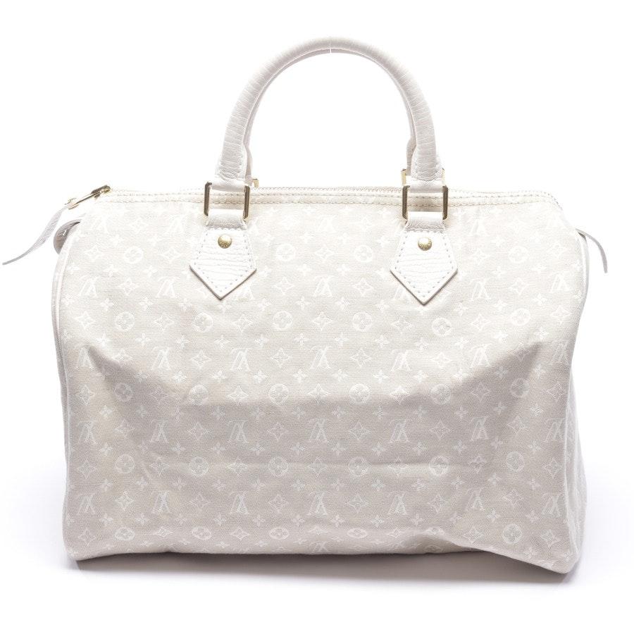 Handtasche von Louis Vuitton in Cremeweiß - Speedy 30 Mini Lin