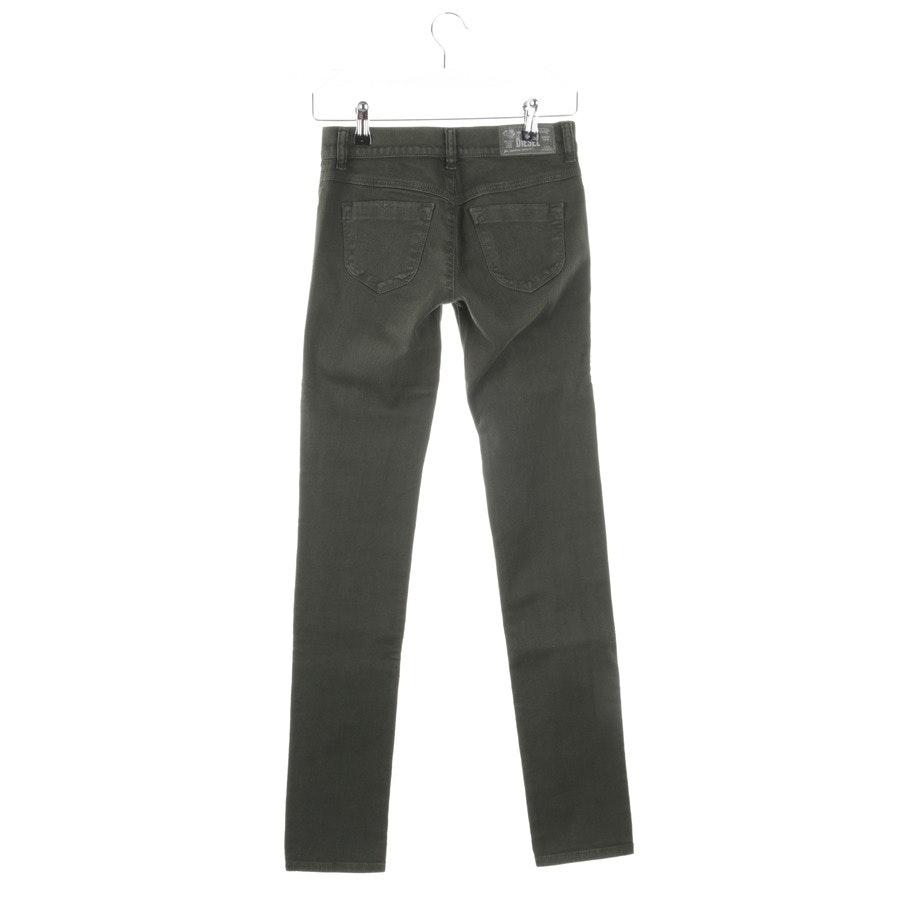 Jeans von Diesel in Dunkelgrün Gr. W25 - Neu