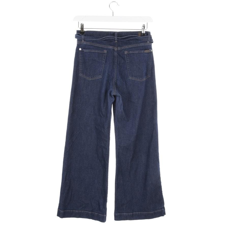Jeans von 7 for all mankind in Blau Gr. 28