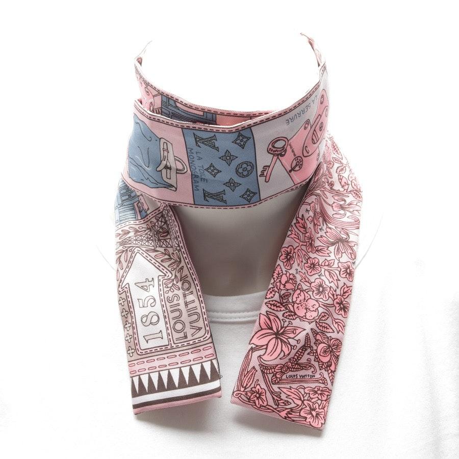 Seidentuch von Louis Vuitton in Rosa und Mehrfarbig